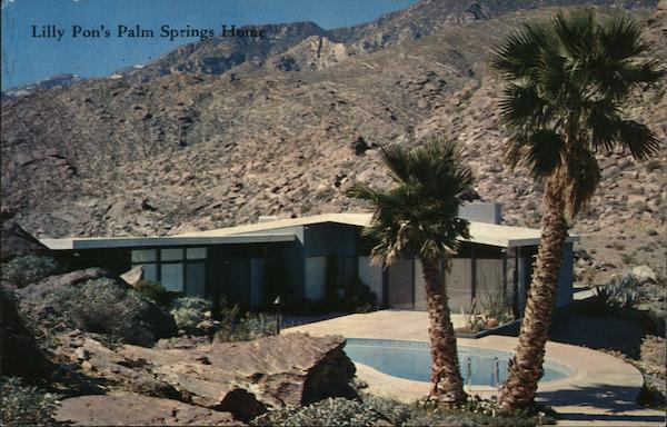 Lilly Pon's Palm Springs Home California