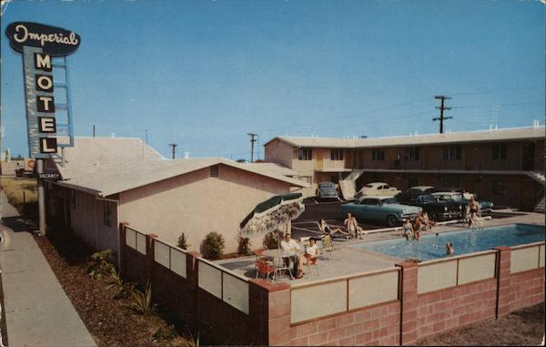 The Imperial Motel Los Angeles California