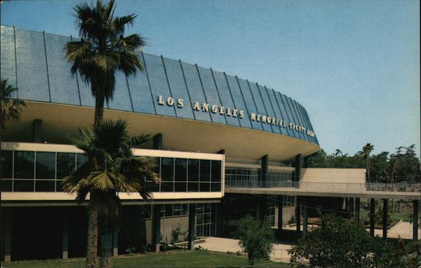 Los Angeles Memorial Sports Arena California David Mills