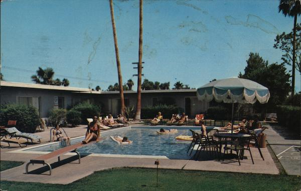Blue Palms Hotel Apartments Palm Springs California