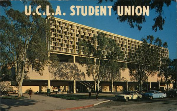 Student Union at UCLA Los Angeles California