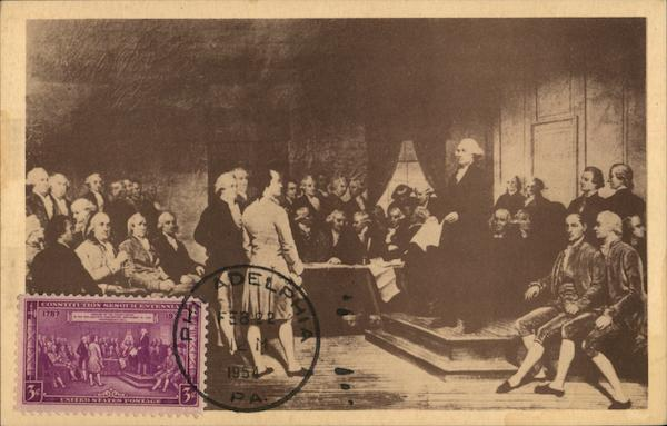 The Signing of the Declaration of Independence Bicentennial Philadelphia Pennsylvania