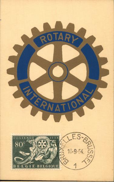 Rotery International Fraternal Maximum Cards