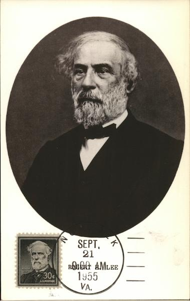 Robert E. Lee, US Civil War Leader Maximum Cards