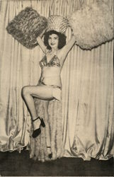 Show Girl in Costume