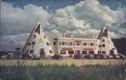 The Tepee Curio Store Postcard