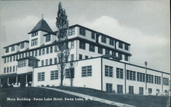 Main Building of the Swan Lake Hotel