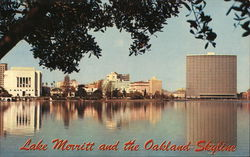 Lake Merritt and Oakland Skyline