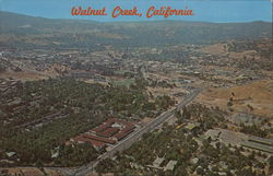 Aerial View of Walnut Creek