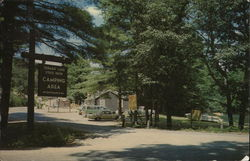 Entrance to Sebago Lake State Park Camping Area