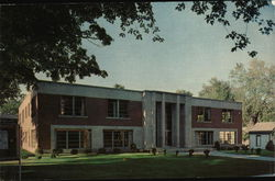 Clarkson College of Technology - Lewis House, Student Union Postcard