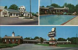 Chesmotel Lodge Postcard