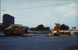 The Drake Motel and Restaurant Postcard