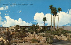 Debbie Reynold's Palm Springs Home