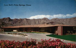Lucy Ball's Palm Springs Home