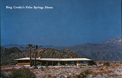 Bing Crosby's Palm Springs Home