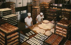 The Nut Tree Bakery - Two Workers Surrounded by Baked Goods