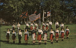 The Crimson Lancers Color Guard