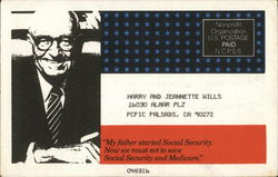 James Roosevelt, Chairman National Committee to Preserve Social Security and Medicare