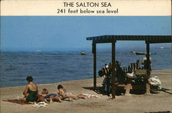 The Salton Sea, 241 feet below sea level