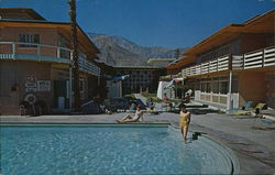 Palm Springs President Hotel and Jack London's Restaurant
