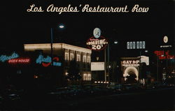 Restaurant Row - La Cienega Boulevard at Night