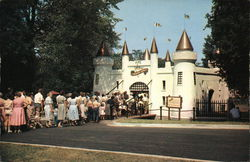 Entrance Castle to Storybook Gardens