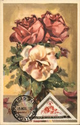 Painting of Bouquet of Roses