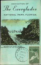Dedication of Everglades National Park