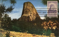 The Devil's Tower Postcard