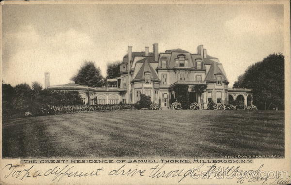 The Crest, Residence of Samuel Thorne Millbrook New York