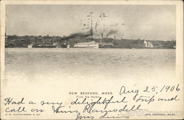 View from the Harbor New Bedford Massachusetts
