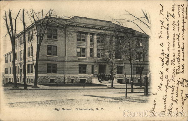 High School Schenectady New York