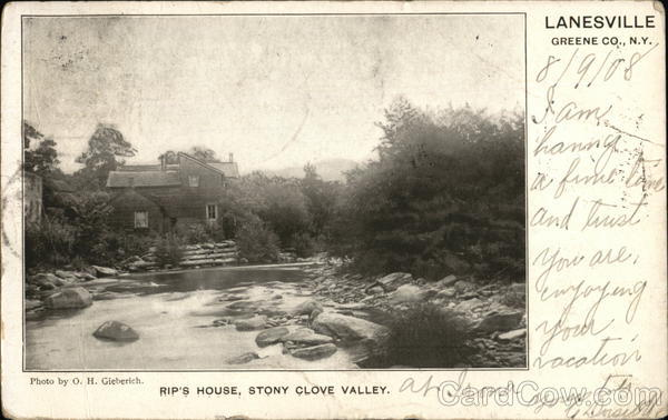 Rip's House, Stony Clove Valley Lanesville New York