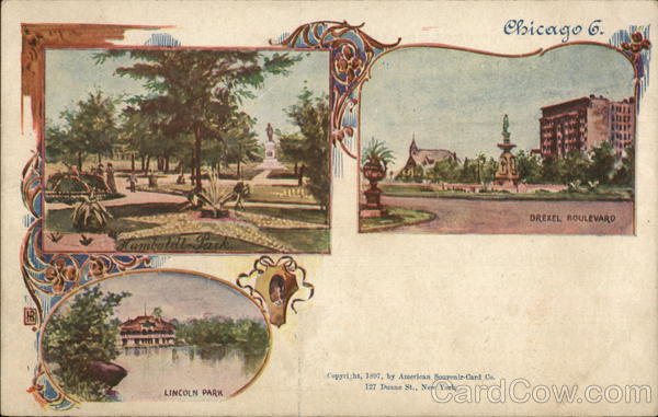 Humboldt Park, Lincoln Park and Drexel Boulevard Chicago Illinois