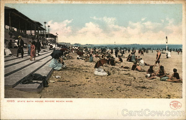 State Bath House Revere Beach Massachusetts