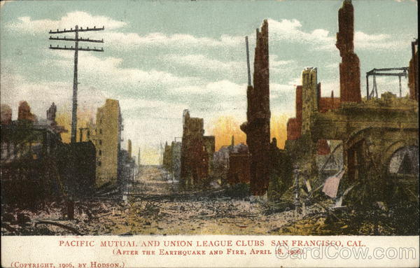Pacific Mutual and Union League Clubs San Francisco California