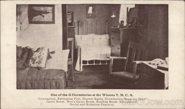One of the Dormitories at the Winona YMCA Minnesota