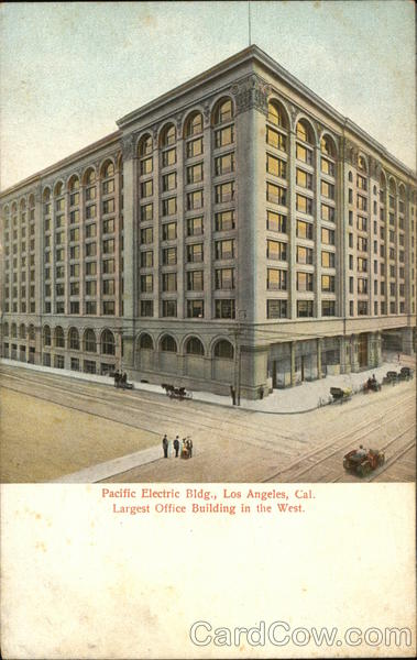Pacific Electric Building Los Angeles California