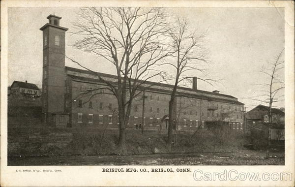 Bristol Mfg. Co. Connecticut