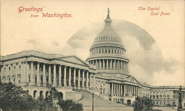 The Capitol - East Front Washington District of Columbia