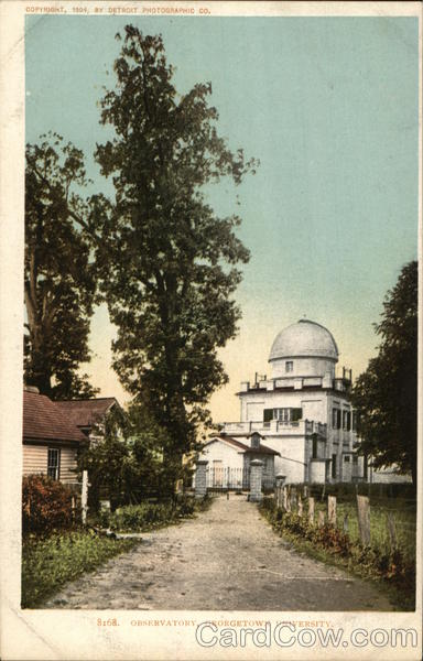 Observatory, Georgetown University Washington District of Columbia