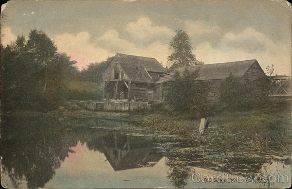 Old Seall Mill Bath Maine