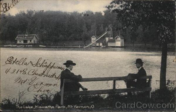 The Lake, Hiawatha Park Mount Vernon Ohio