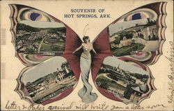 Greetings from Hot Springs Butterfly Multiview