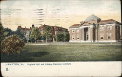 Hampton Institute - Virginia Hall and Library