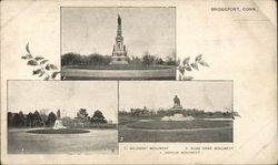Soldiers, Elias Howe and Barnum Monuments