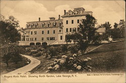 Rogers Rock Hotel Showing North Garden