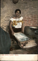 Making Tortillas, Mexico