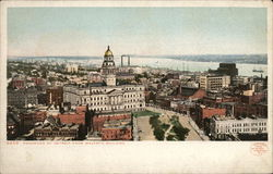 Panorama of Detroit from Majestic Building
